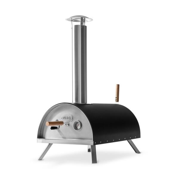 BURNHARD Pizzaofen Nero