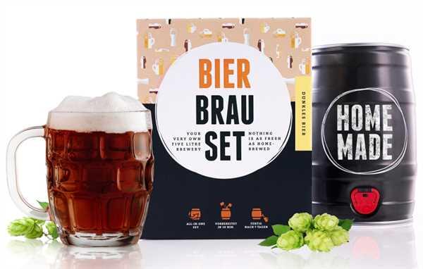 """BRAUFÄSSCHEN Bier Brau Set """"Dunkles"""""""
