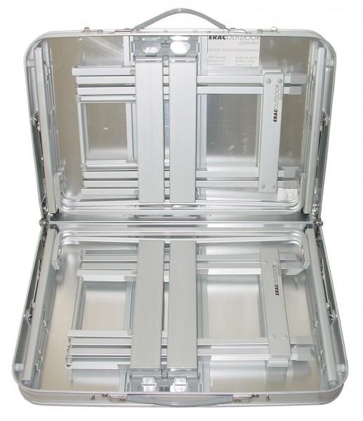 ERAC outdoor Aluminium Tisch-Set 3-teilig