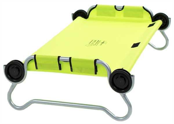 DISC-O-BED Kid-O-Bunk runder Rahmen GRÜN
