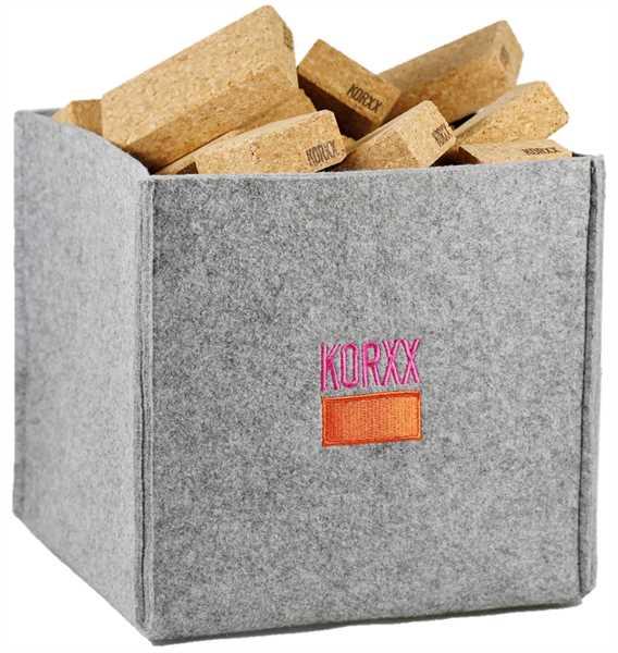 KORXX Cuboid M Filzbox 60 teilig