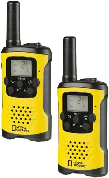 NATIONAL GEOGRAPHIC FM Walkie-Talkie 2er Set
