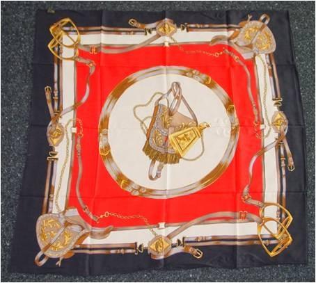 ERAC Seidentuch ca. 87 x 87 cm