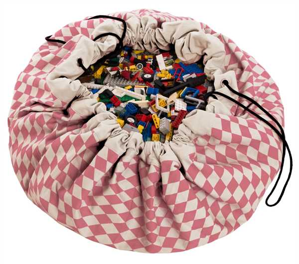 PLAY AND GO Spielzeugdecke/Spielzeugsack, Pink D