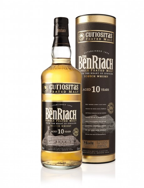 BENRIACH Curiositas Peated 10 Years old