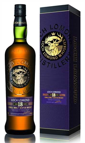 LOCH LOMOND Single Malt Whisky 18 Years Old