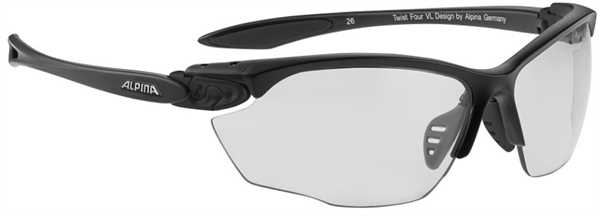 ALPINA Twist Four VL+ Sportbrille black matt