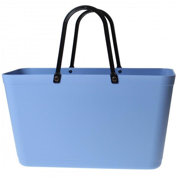 PERSTORP DESIGN Sweden BAG - Large - Green Plastic, Bio Plastic aus Zuckerrohr, Sky blue
