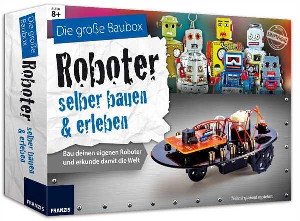 FRANZIS Roboter selber bauen - Die grpße Baubox