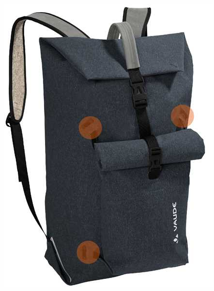 VAUDE Wolfegg + Egg Rucksack-Set PHANTOM BLACK
