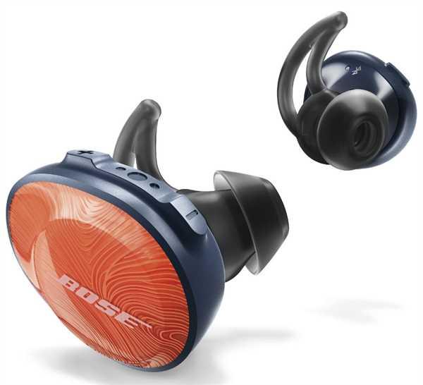 BOSE SoundSport Free wireless headphones, orange