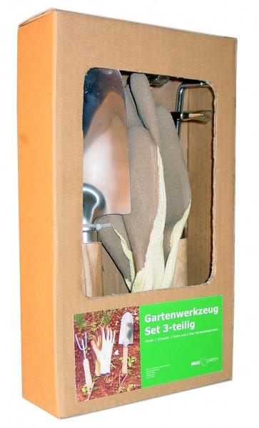 ERAC Gartenwerkzeug-Set 3-teilig