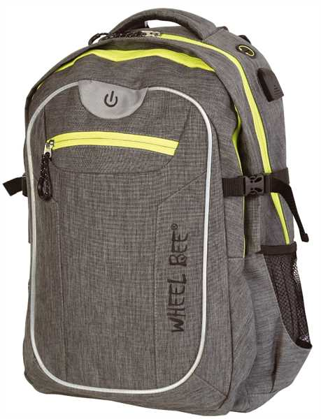 WHEEL BEE Backpack Revolution Grey