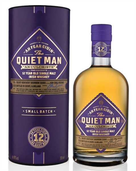 THE QUIET MAN Irish Single Malt Whiskey