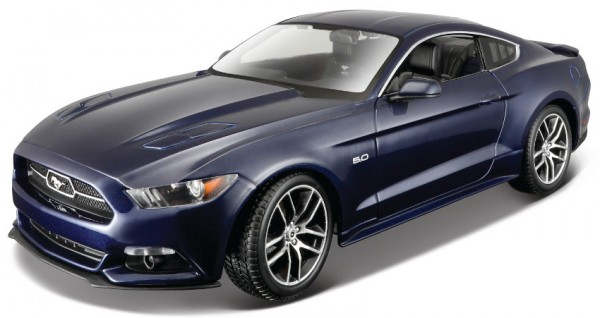 MAISTO Ford Mustang '15, 1:18, blue
