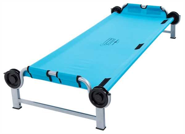 DISC-O-BED Kid-O-Bunk gerader Rahmen BLAU