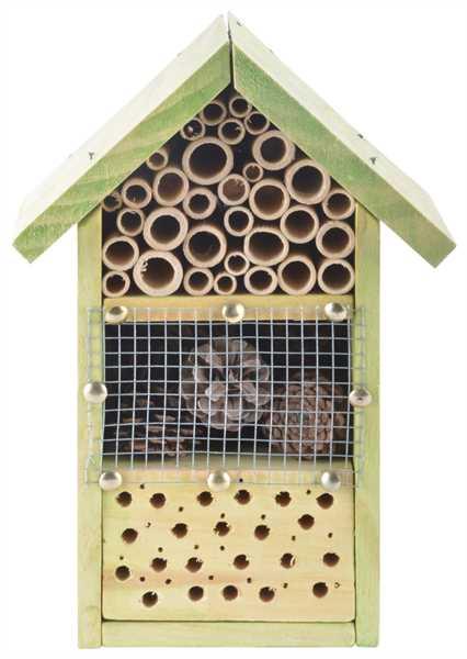 ESSCHERT DESIGN Insektenhotel Bausatz KG153