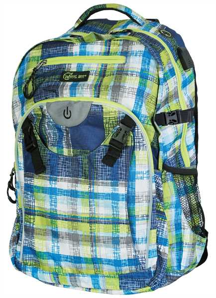 WHEEL BEE Backpack Generation Z blue/white/green
