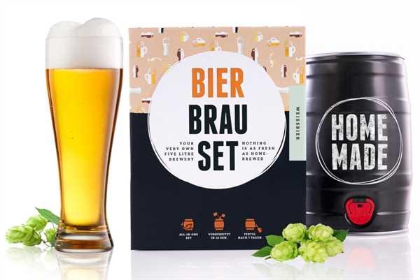 """BRAUFÄSSCHEN Bier Brau Set """"Weißbier"""""""