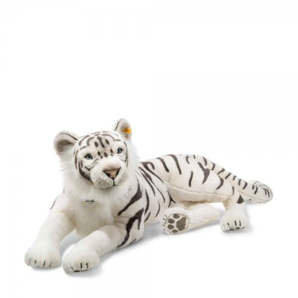 Tuhin, der weiße Tiger 110 cm liegend