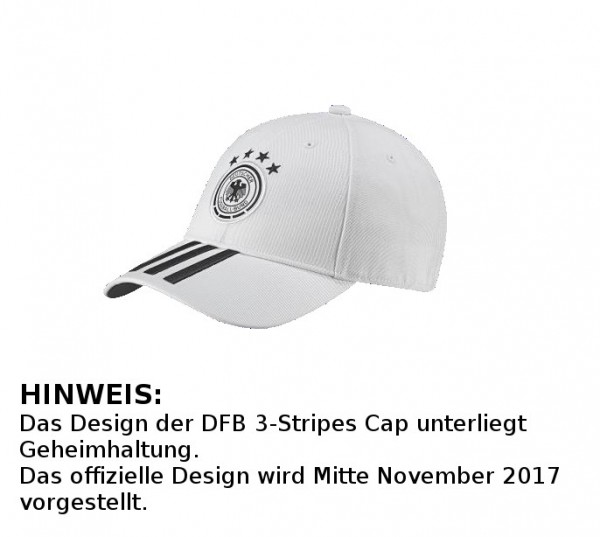 adidas® DFB 3-Stripes Cap - Home