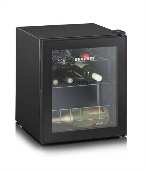 SEVERIN Weintemperierschrank schwarz, 46 Liter