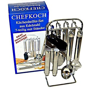 CHEFKOCH Küchenhelfer-Set 7-teilig