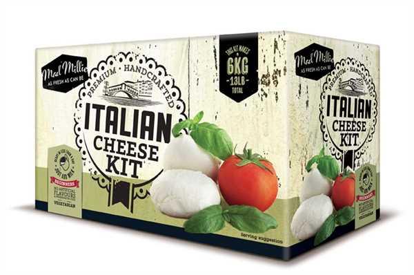 MAD MILLIE Italienisches Käseset