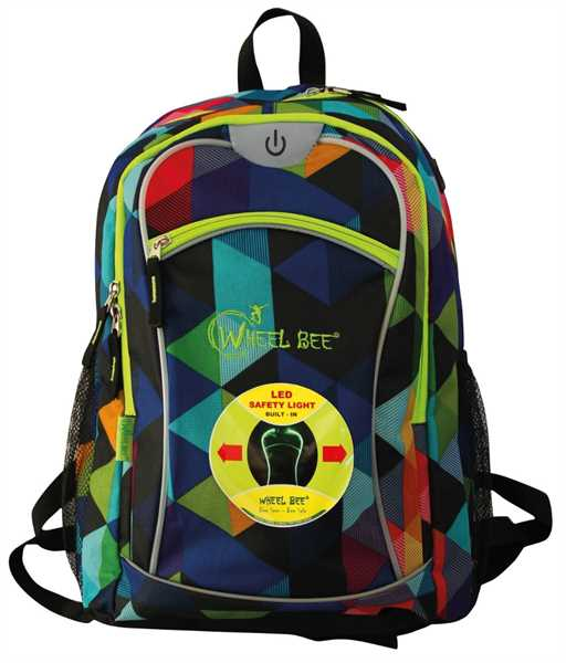 WHEEL BEE Backpack Night Vision Multicolor